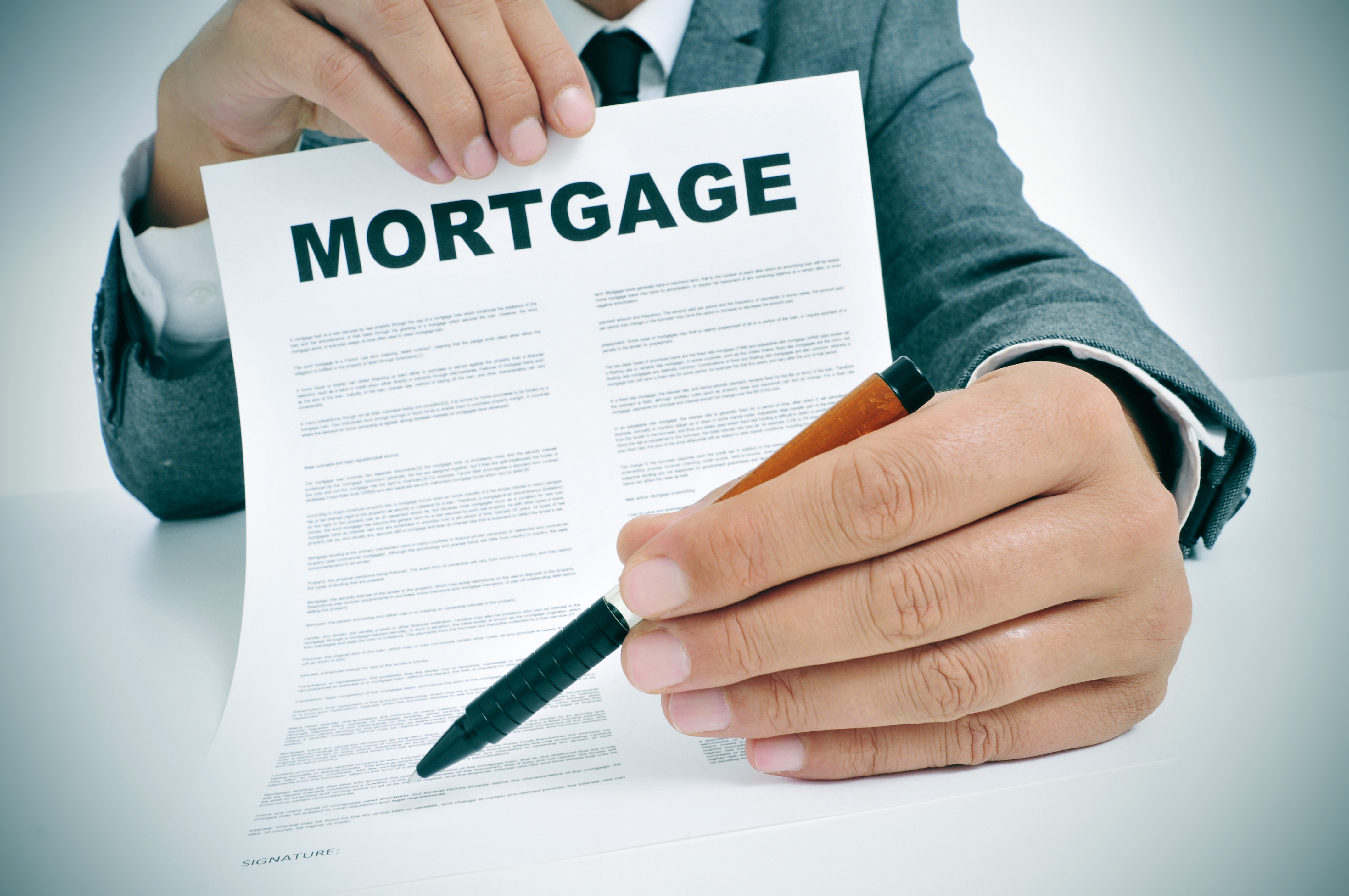 how to get a mortgage loan with no credit