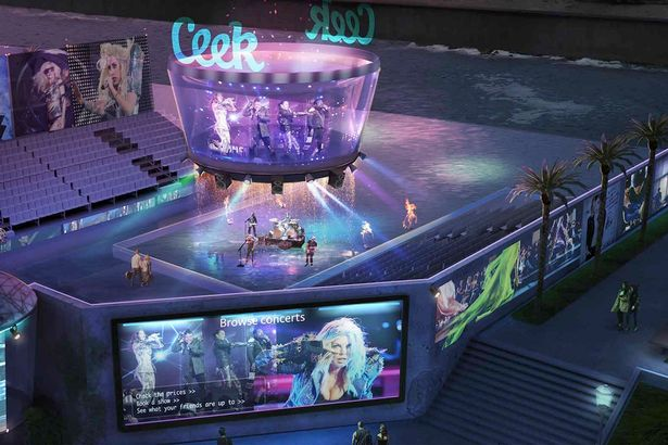 Virtual-reality-concert